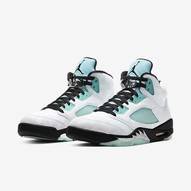 Air Jordan 5 Retro Island Green [4]