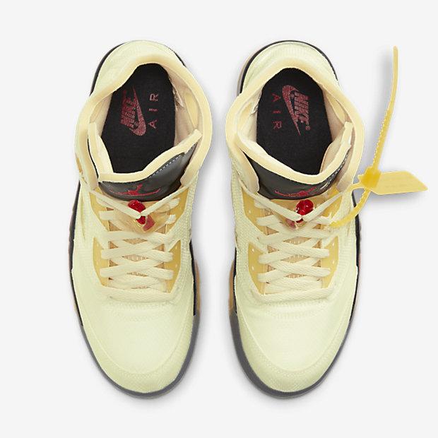 Off-White x Air Jordan 5 Fire Red [3]