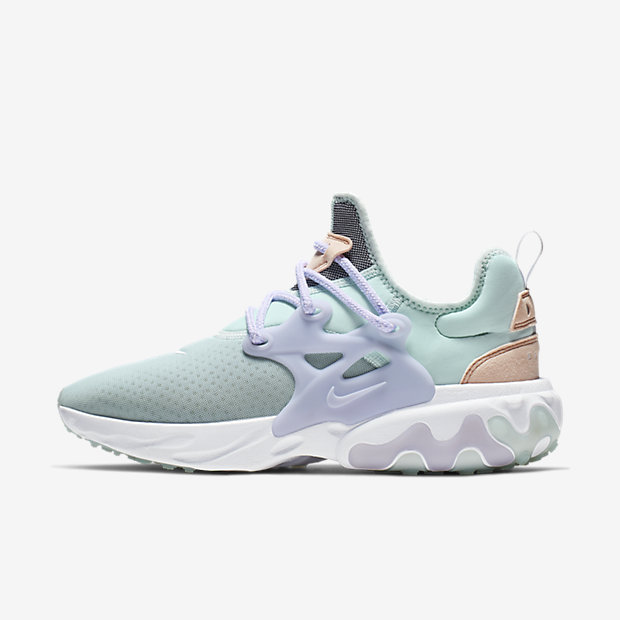 React Presto Teal Tint Oxygen Purple (ウィメンズ)
