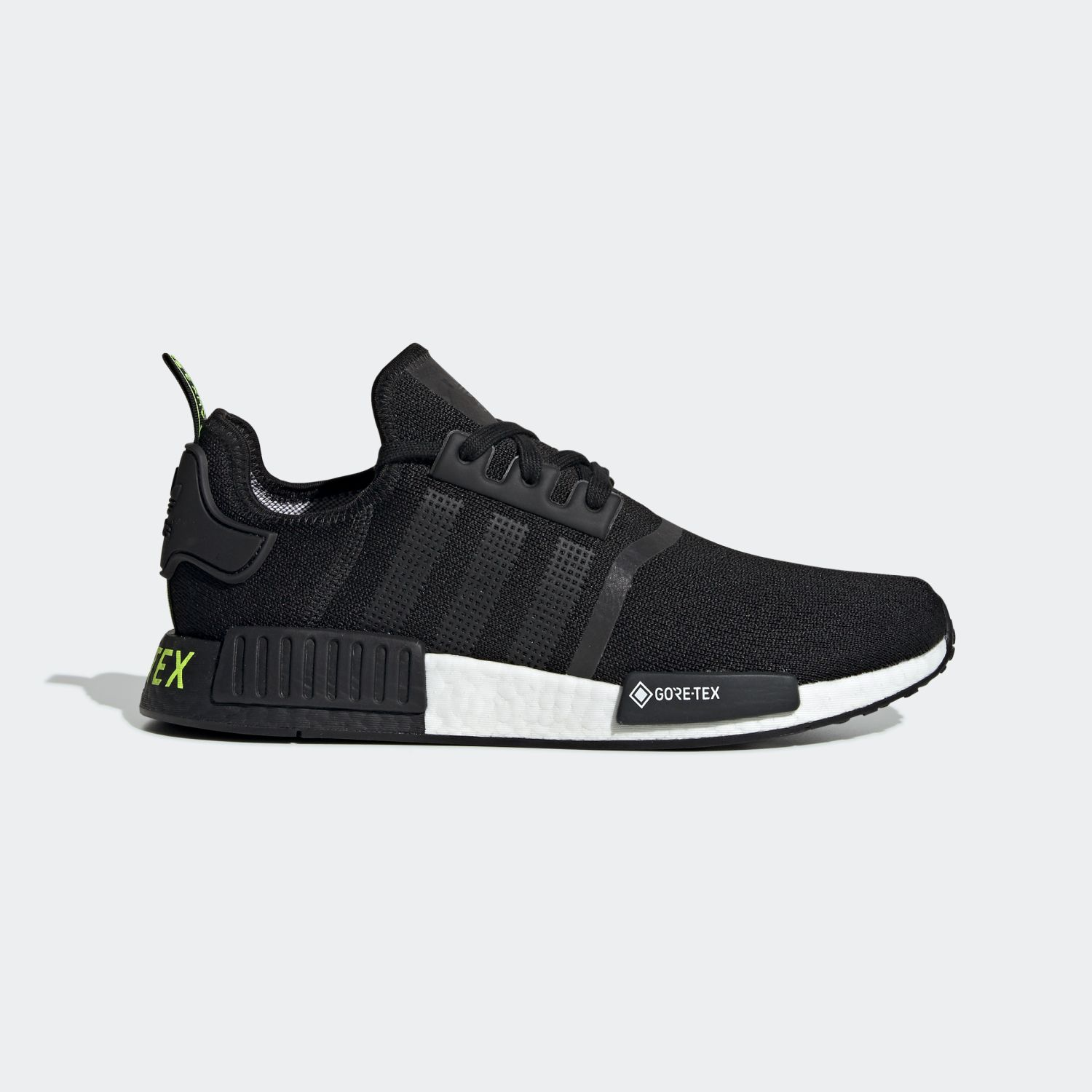 NMD R1 Gore-tex Core Black Solar Yellow [1]