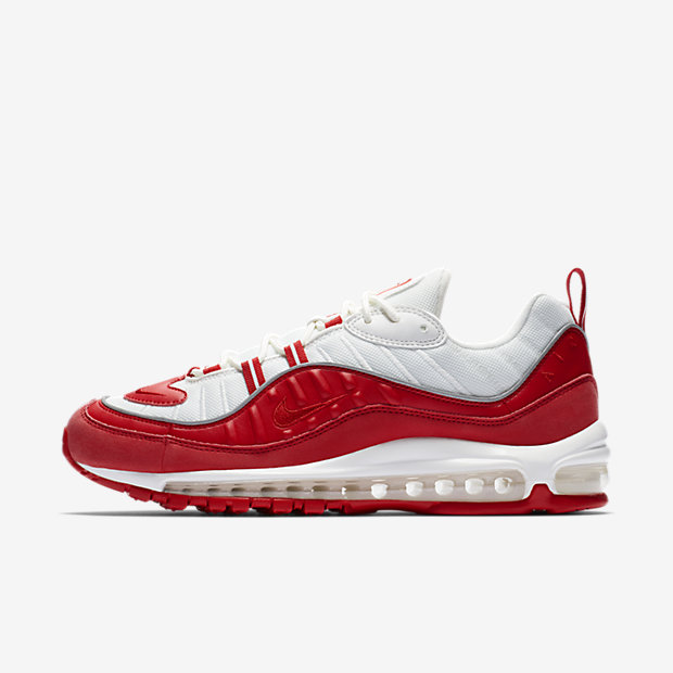 Air Max 98 University Red White