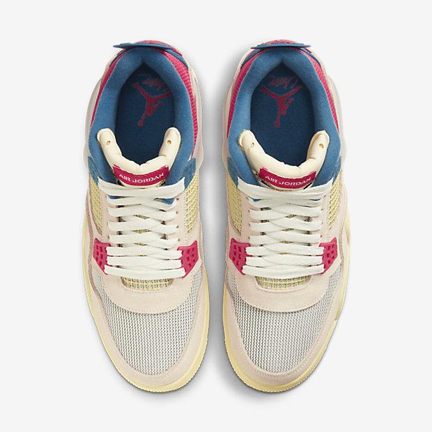 UNION x Air Jordan 4 Guava [3]