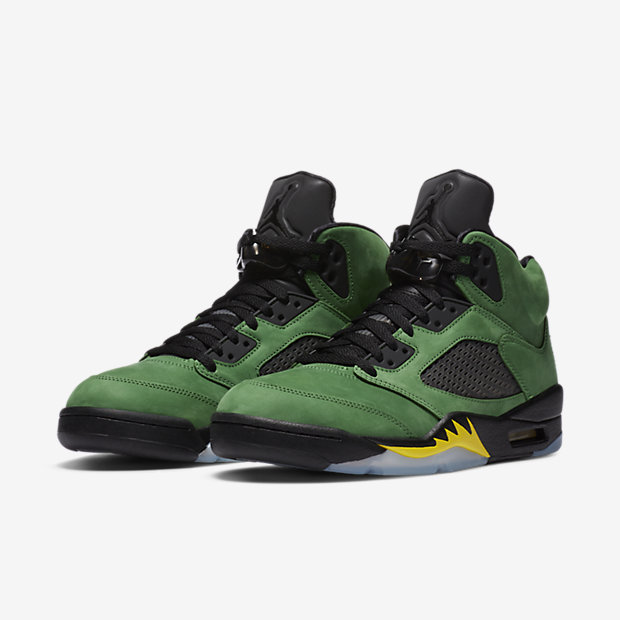 Air Jordan 5 Retro SE Oregon Ducks [4]