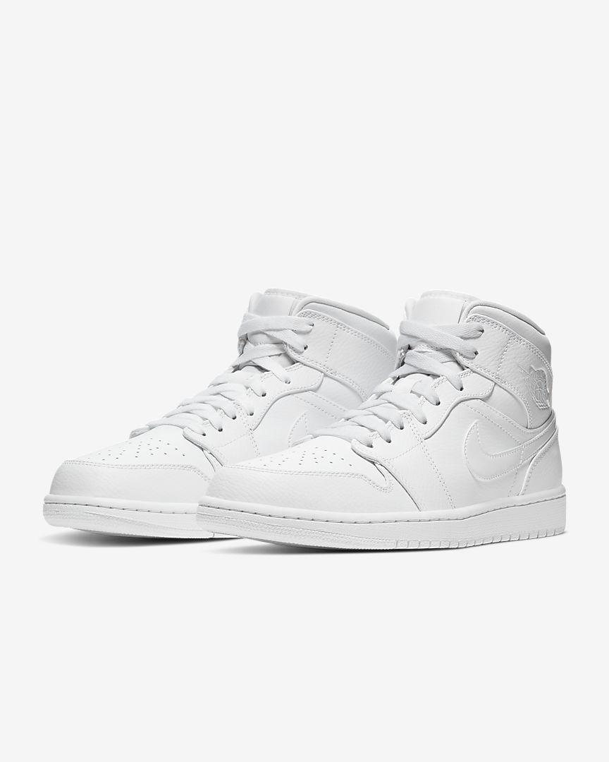 Air Jordan 1 Mid White [4]