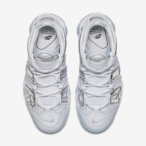 Air More Uptempo Chrome White (モアテン)(ウィメンズ) [3]