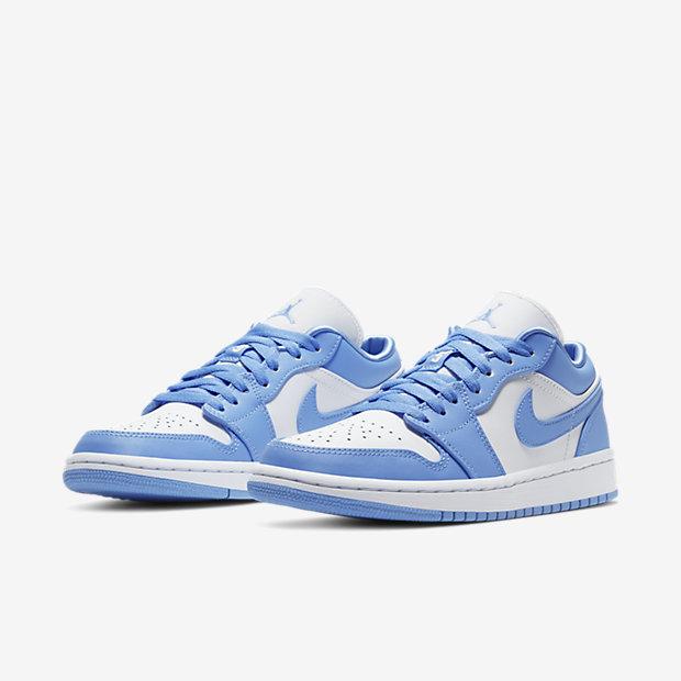 Air Jordan 1 Low University Blue (ウィメンズ) [4]
