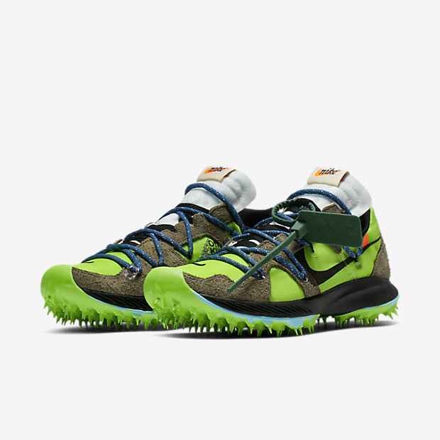 Zoom Terra Kiger 5 Off-White Electric Green (オフホワイト)(ウィメンズ) [4]