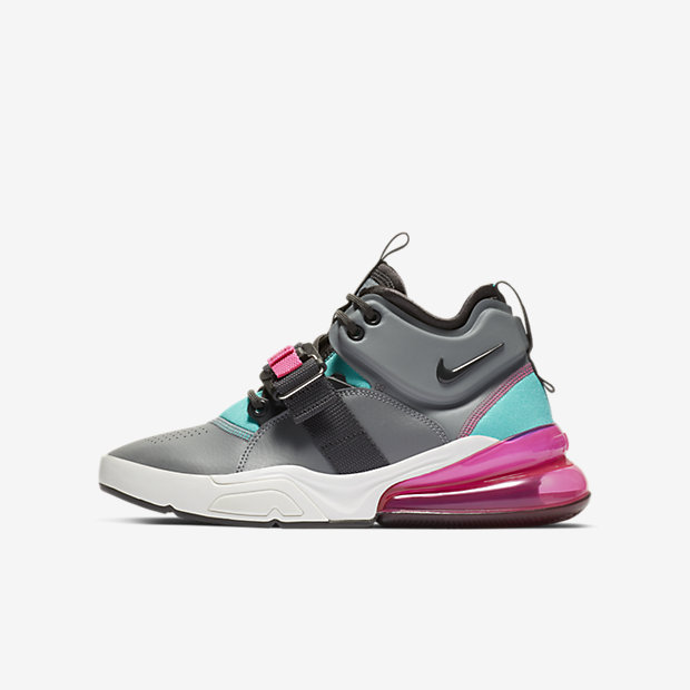 Air Force 270 Cool Grey Hyper Jade (GSサイズ)
