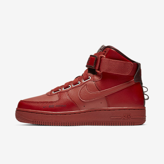 Air Force 1 High Utility Dune Red (ウィメンズ)