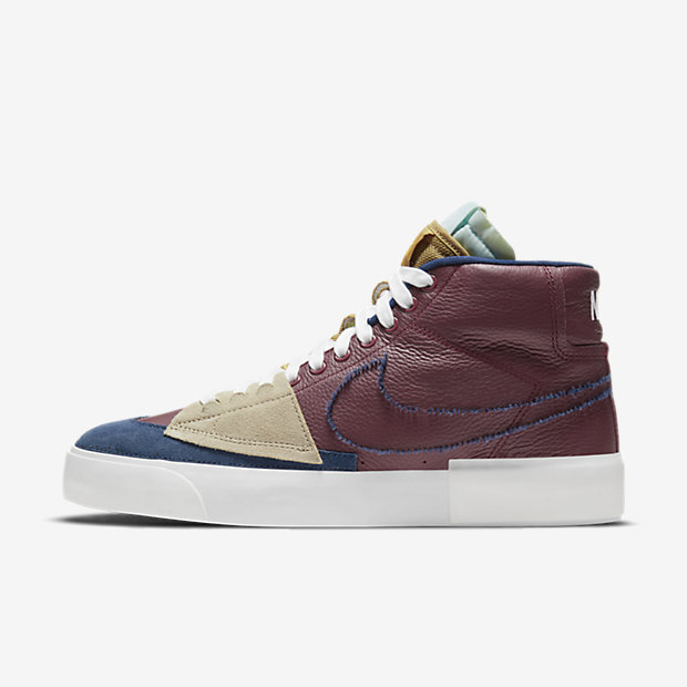 SB Blazer Mid Edge Team Red/Navy/Light Dew