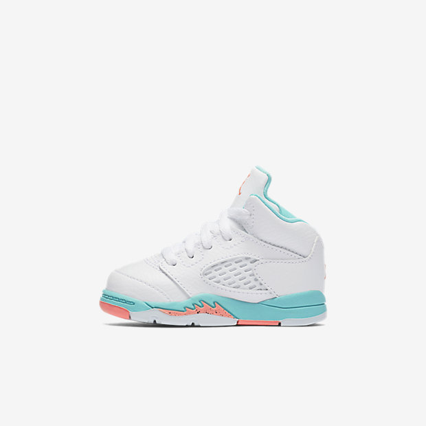 Air Jordan 5 Retro Light Aqua (TDサイズ)