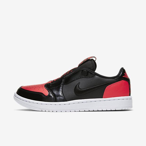Air Jordan 1 Low Slip Black Hot Punch (ウィメンズ)