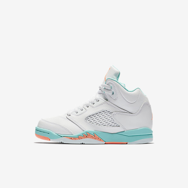 Air Jordan 5 Retro Light Aqua (PSサイズ)