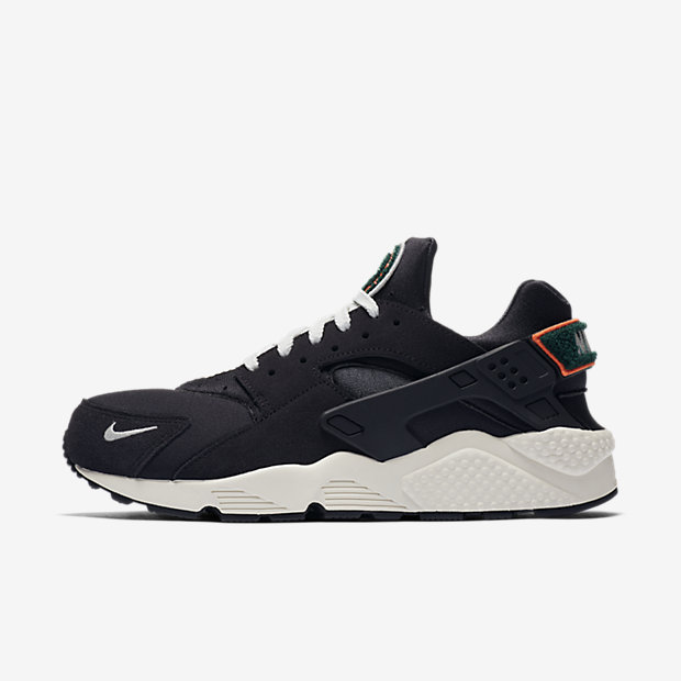 Air Huarache Run Oil Grey Rainforest