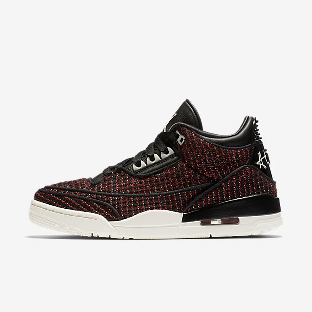 Air Jordan 3 Retro AWOK Vogue University Red (ウィメンズ)