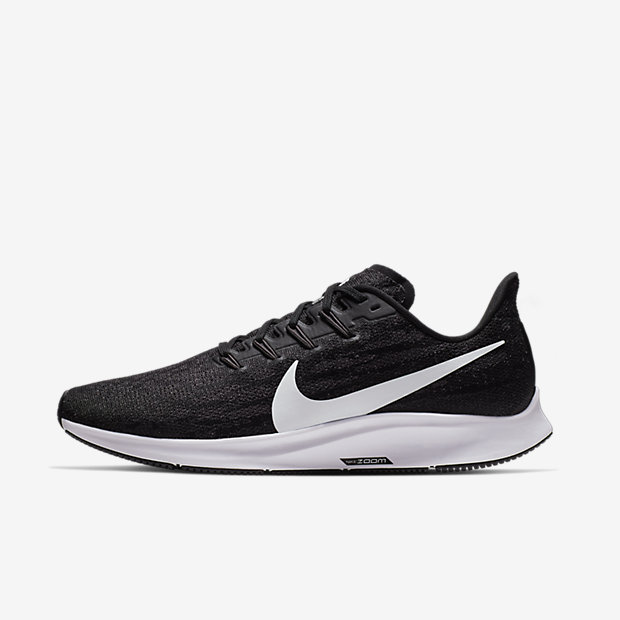 Air Zoom Pegasus 36 Black White
