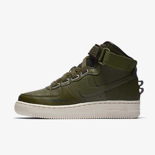 Air Force 1 High Utility Olive Canvas (ウィメンズ)