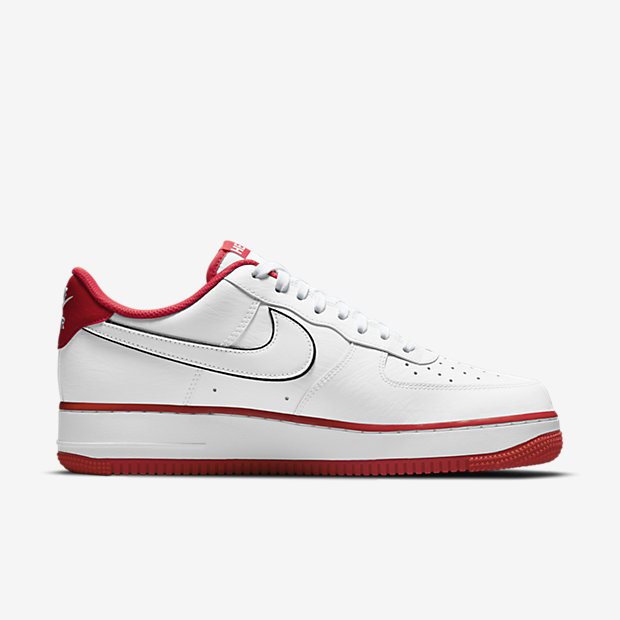 "Air Force 1 Low ""HELLO"" White/University Red [2]"