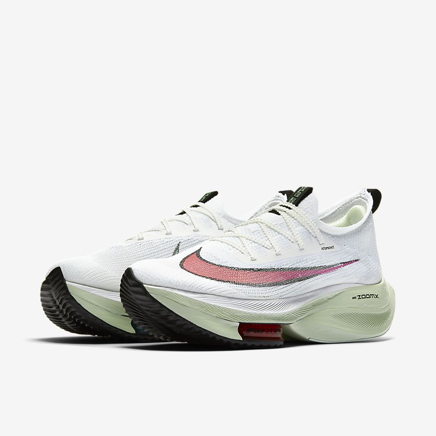 Air Zoom Alphafly Next% White/Jade Aura [4]