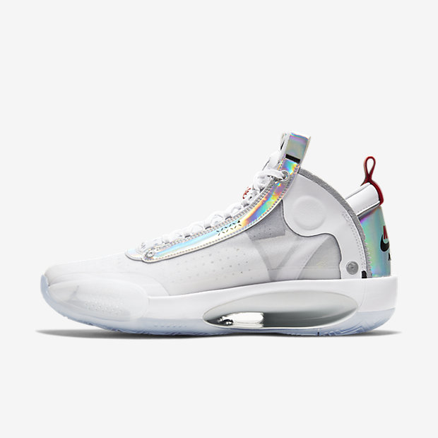 Air Jordan XXXIV White Metallic Silver [1]