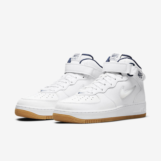 Air Force 1 Mid QS NYC White [4]