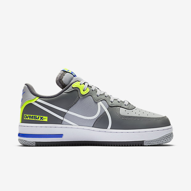 Air Force 1 React Wolf Grey [2]