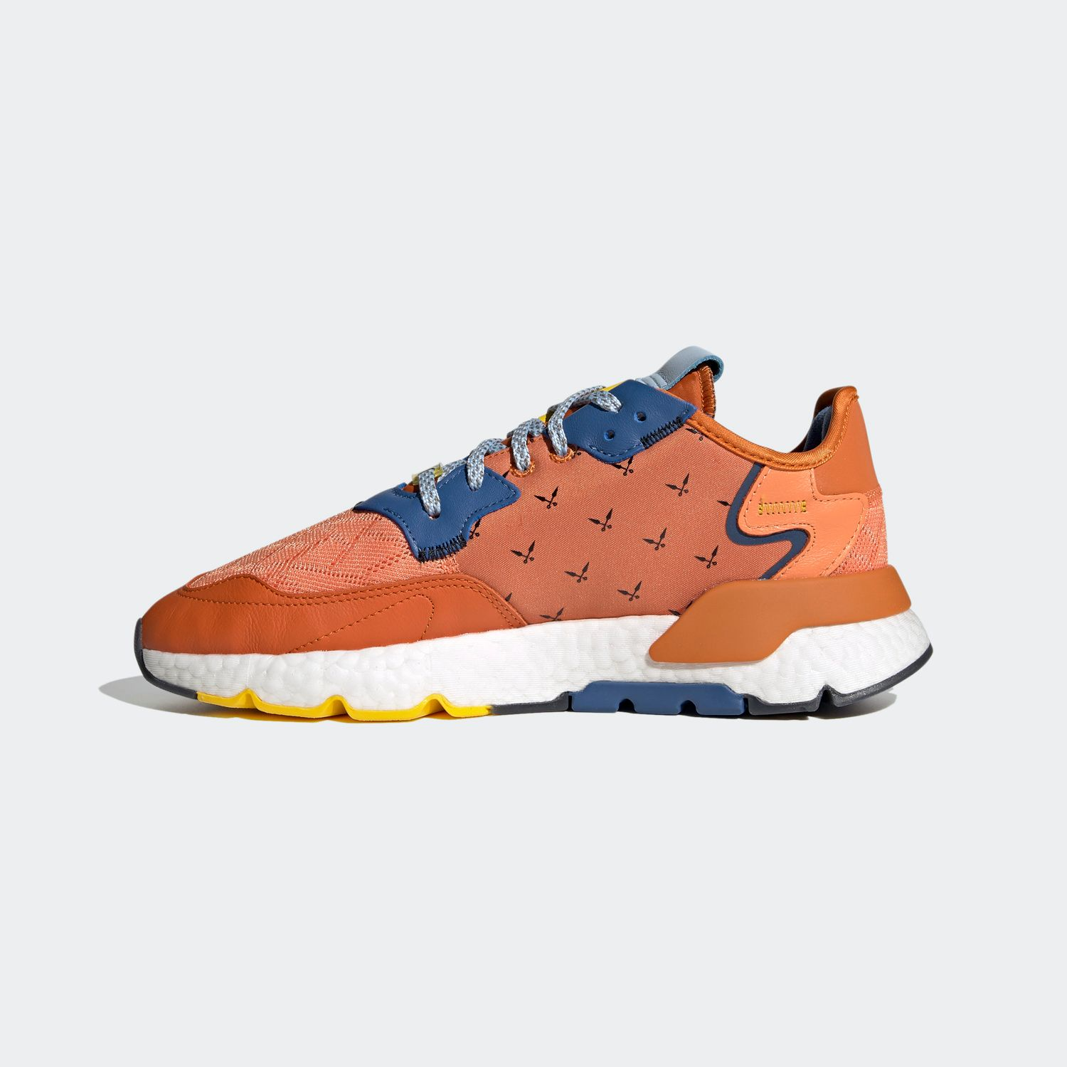 Ninja Nit Jogger Tactile Orange [2]