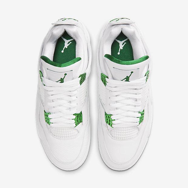 Air Jordan 4 Retro Metallic Green [3]
