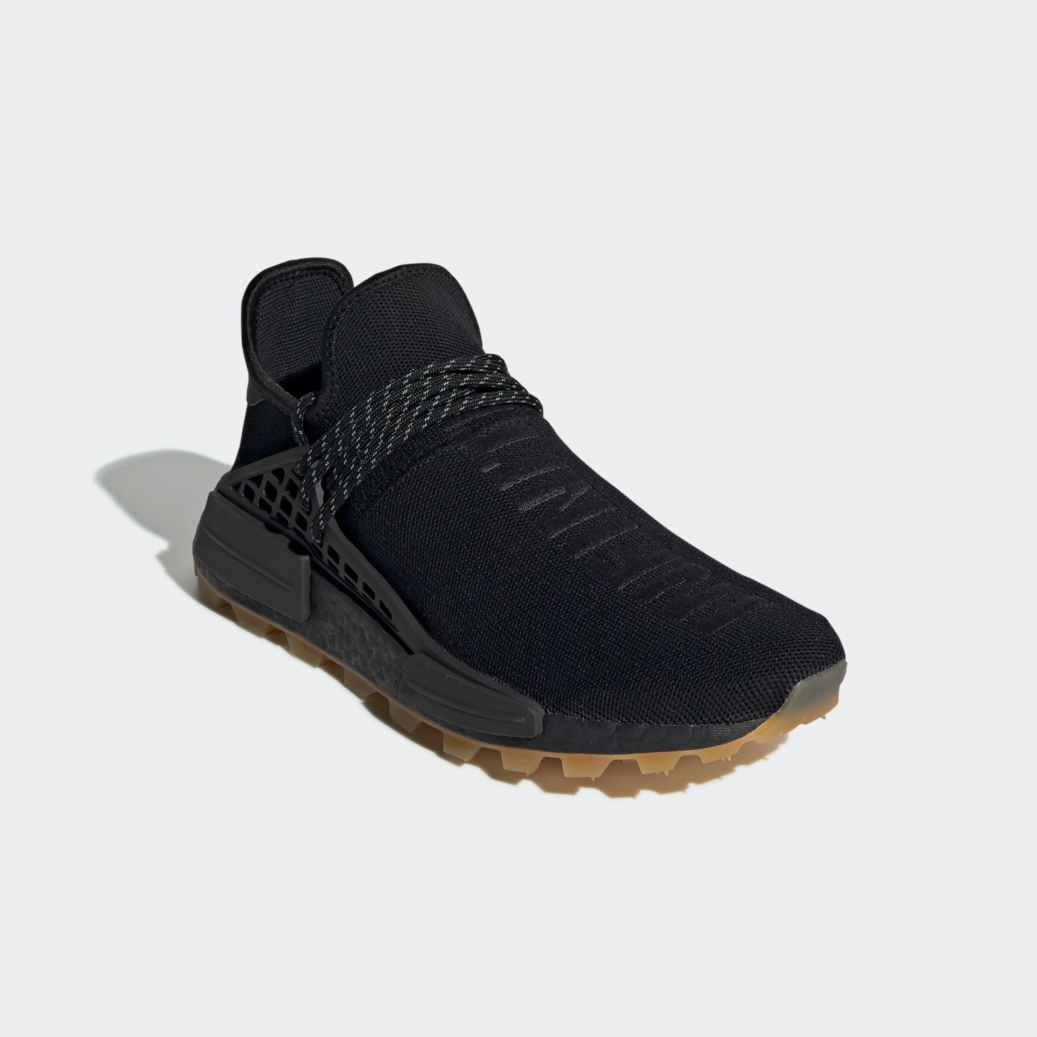 NMD Hu Trail Pharrell Now Is Her Time Black [4]