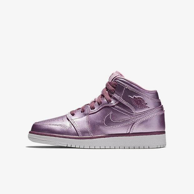Air Jordan 1 Mid Pink Rise (GSサイズ)
