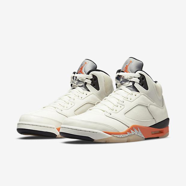 """Air Jordan 5 """"Orange Blaze"""" [4]"""