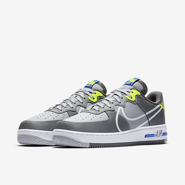 Air Force 1 React Wolf Grey [4]