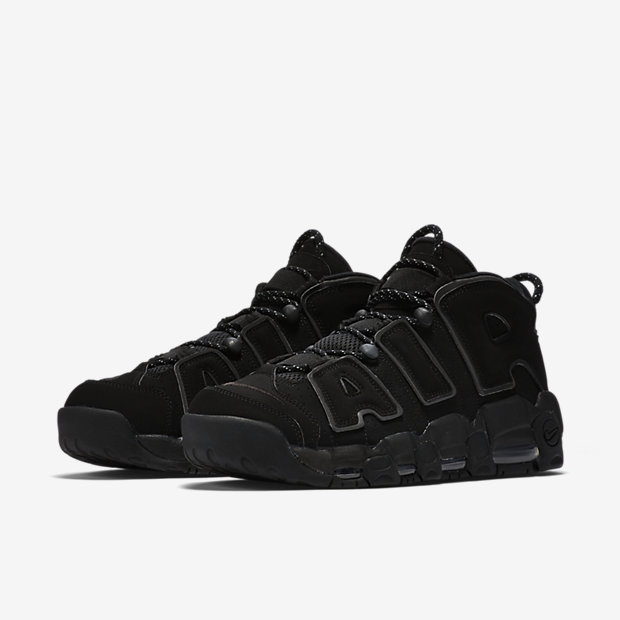 Air More Uptempo Black Reflective (2018)(モアテン) [4]