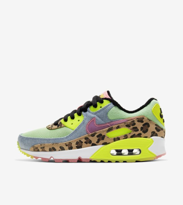 Air Max 90 Illusion Green/Sunset Pulse (ウィメンズ) [1]