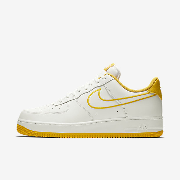 Air Force 1 Low White Yellow Ochre