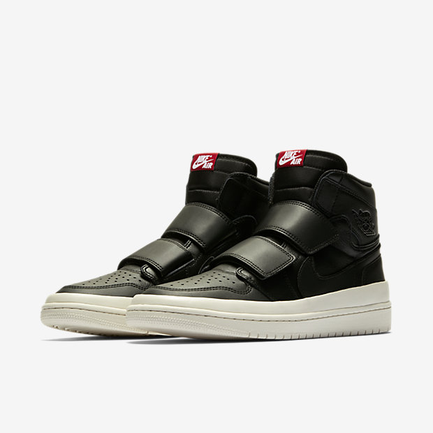 Air Jordan 1 Retro High Double Strap Black Sail [4]