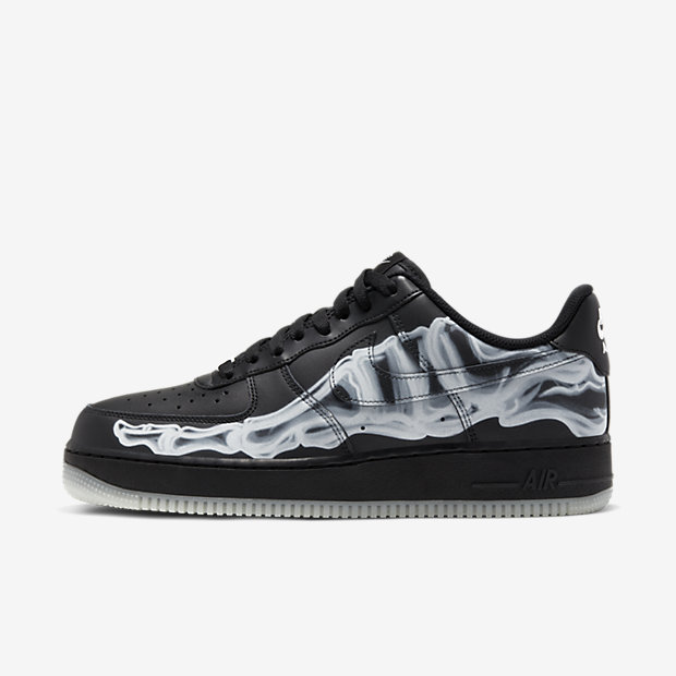 Air Force Skeleton Black on Black [1]