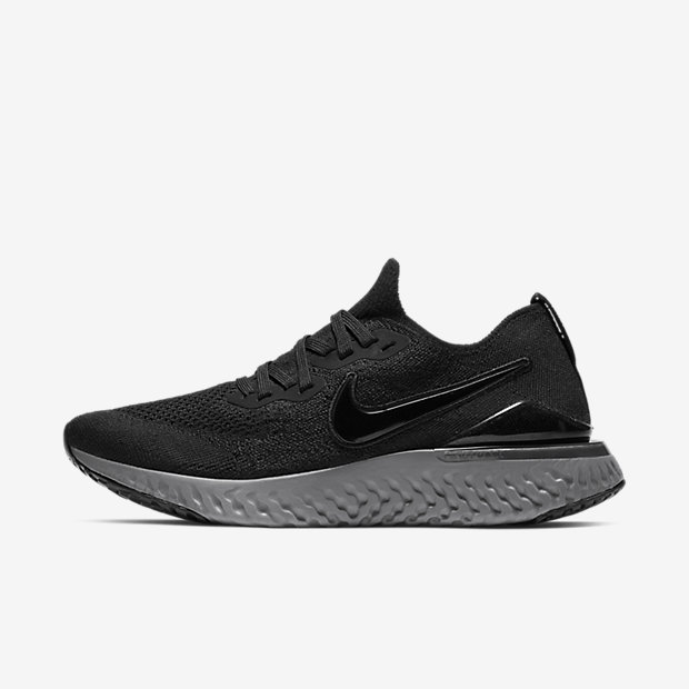 Epic React Flyknit 2 Black Anthracite (ウィメンズ)