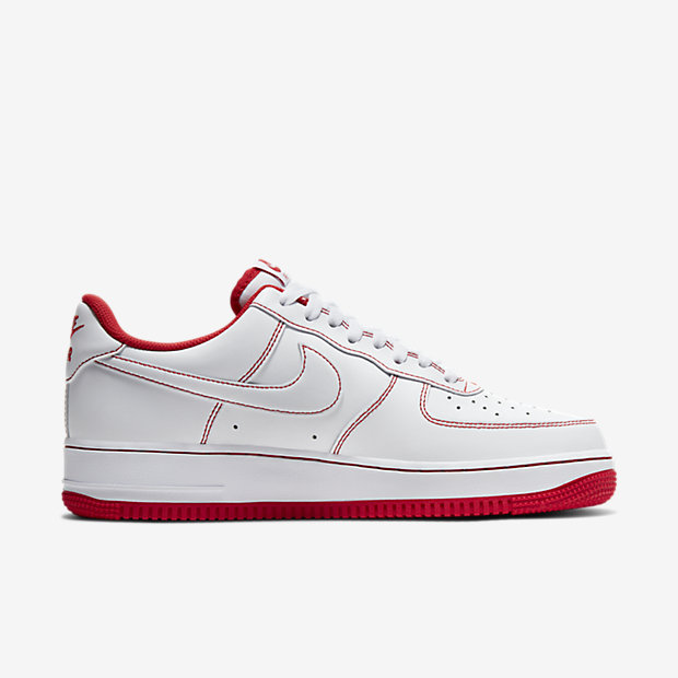 Air Force 1 Low White/ Radiant Red [2]