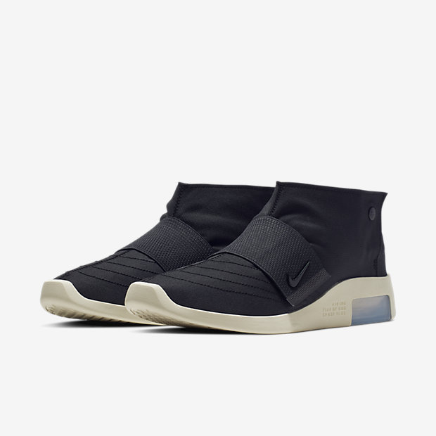 Air Fear Of God Moccasin Black [4]