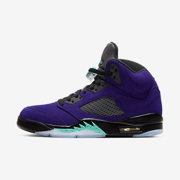 Air Jordan 5 Retro Purple Grape [1]