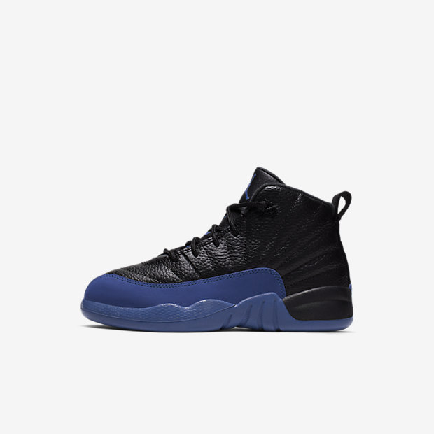 Air Jordan 12 Retro Black Game Royal (PSサイズ)