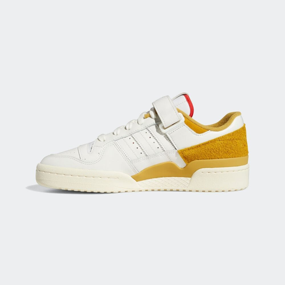 FORUM 84 Low Cream White / Victory gold [2]