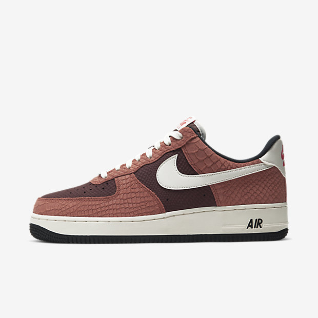 Air Force 1 Low Red Bark