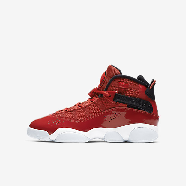 Air Jordan 6 Rings Gym Red (GSサイズ)