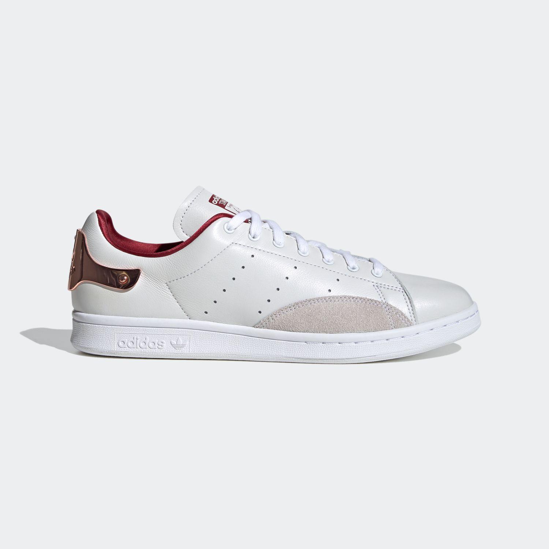 Stan Smith Footwear White/College Burgundy [1]