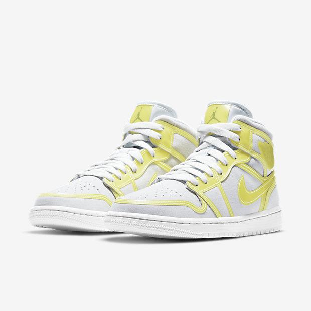 Air Jordan 1 Mid Opti Yellow (ウィメンズ) [4]
