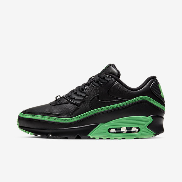 Air Max 90 Undefeated Black Green [1]