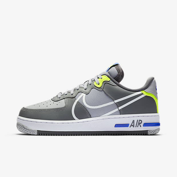Air Force 1 React Wolf Grey [1]