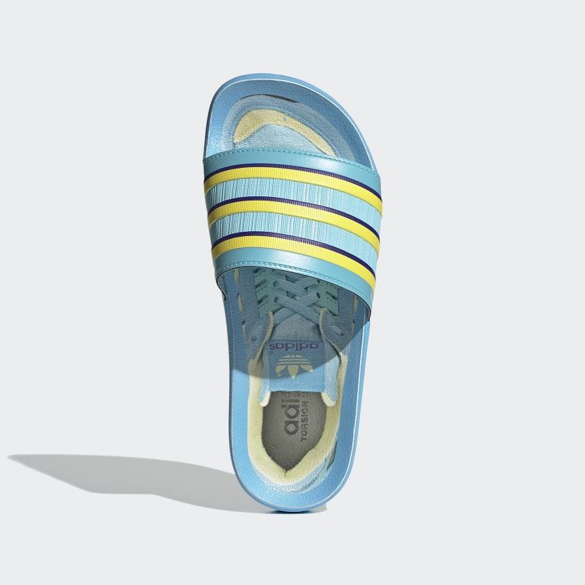 Adilette Premium Slides Light Aqua